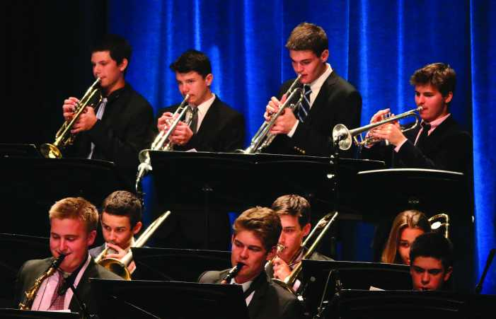 Students perform in annual spring jazz concert