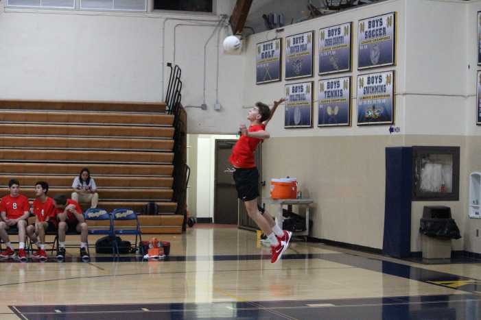 Boys' Volleyball misses playoffs but ends season happy