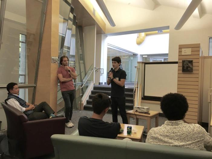 Students, alumni convene for first HW Venture event