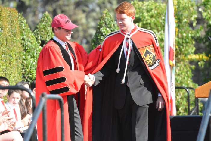 Convocation invests prefects, honors 25th anniversary