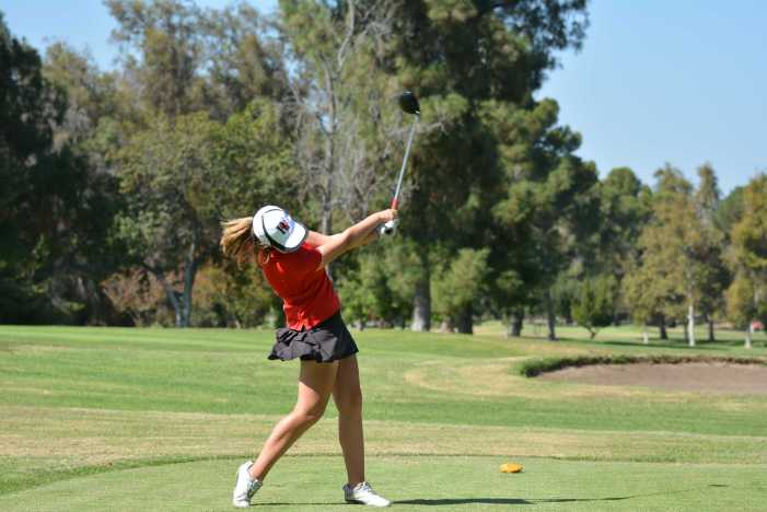 Girls' Golf remains undefeated in season