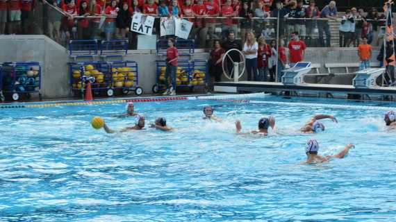 Boys' water polo takes Homecoming victory