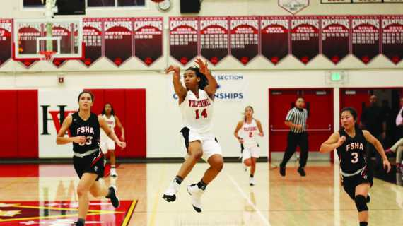 On Cloud Nine – The undermanned girls' basketball team is a mainstay near the top of both national and statewide rankings