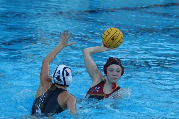 Girls' water polo continues undefeated league record
