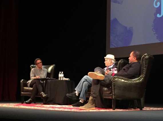 Norman Lear, Kenya Barris speak at diversity forum
