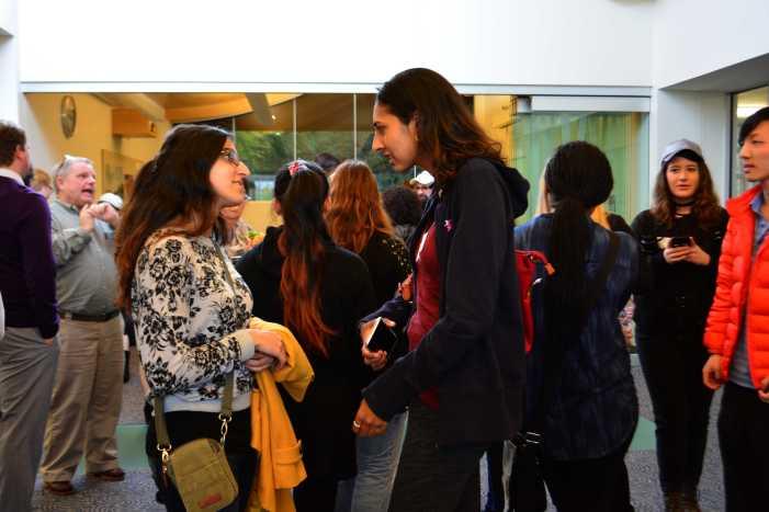 Alumni attend Young Alumni Winter Reception