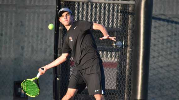 Boys' tennis dominates second match