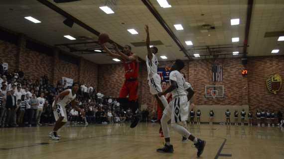 Boys' basketball team starting to click, beats Loyola 54-45