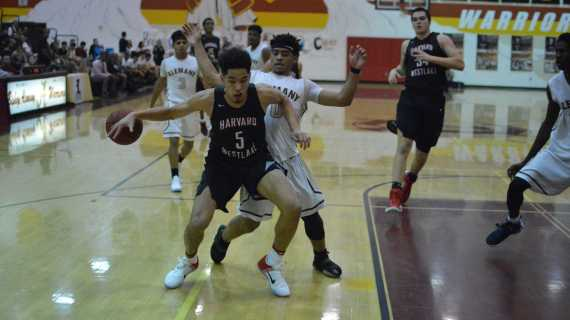 Boys' basketball drops league road game
