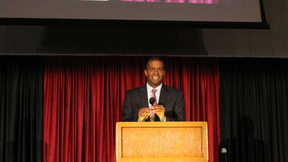 Bakari Sellers urges students to 'journey to excellence'