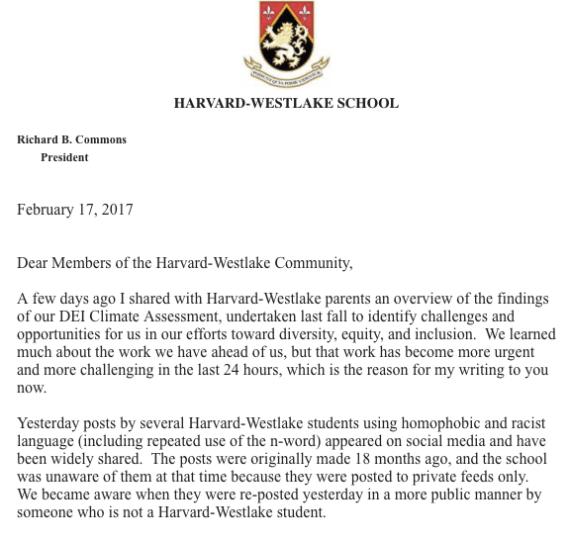 School to take disciplinary action following racial, homophobic slur controversy