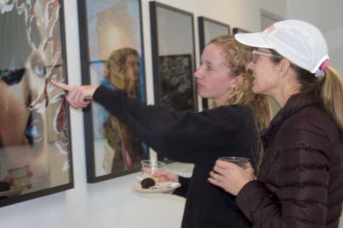 Photography I students showcase first semester art