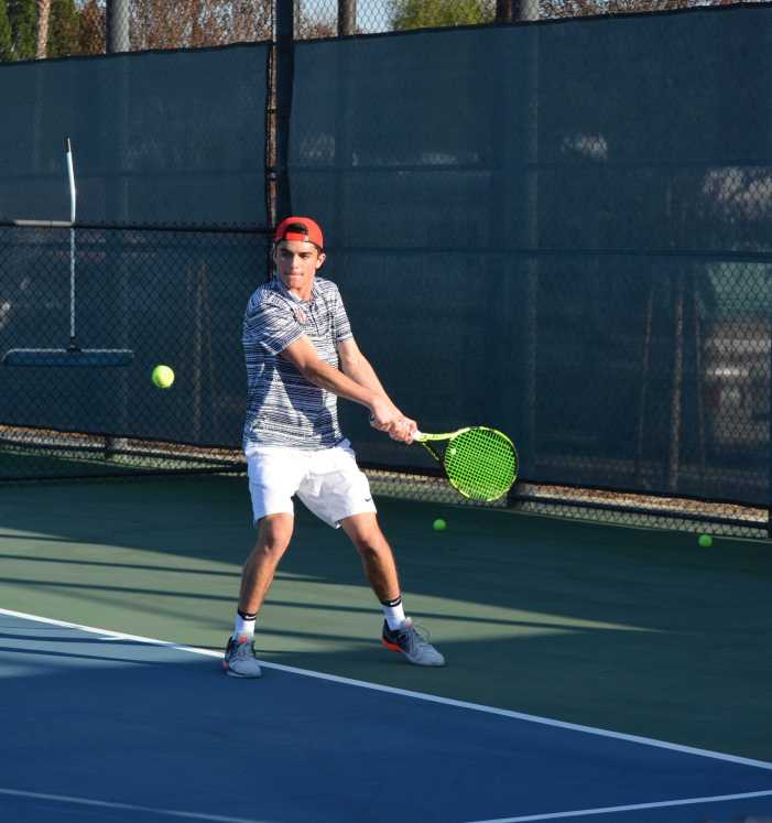 Boys' tennis opens season with 3-0 start