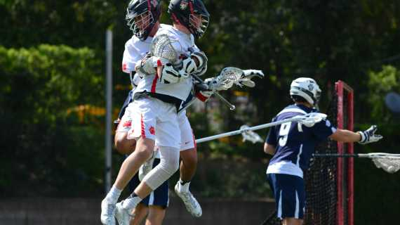 Boys' lacrosse defeats rival Loyola in sudden death thriller