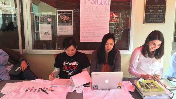 La Femme sells T-shirts to benefit Elizabeth House