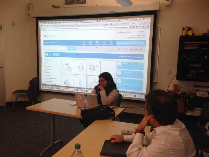 Entrepreneur talks to HW Venture about app creation