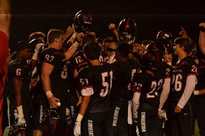 Football wins season opener on final play