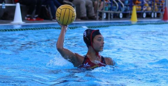 Undefeated girls Water Polo team aims for CIF title