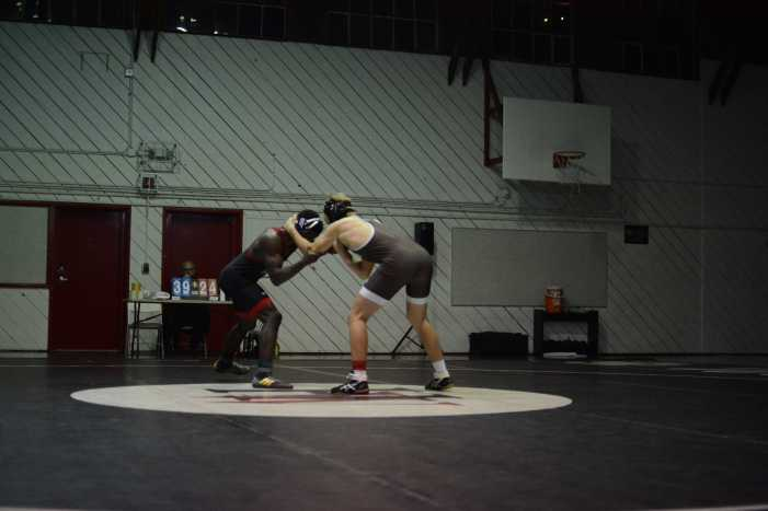 Wrestling defeats Crespi