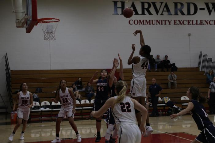 Girls' basketball snatches second league win