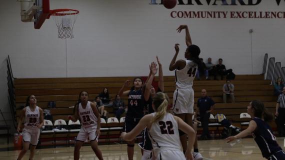 Girls' basketball snatches second league win