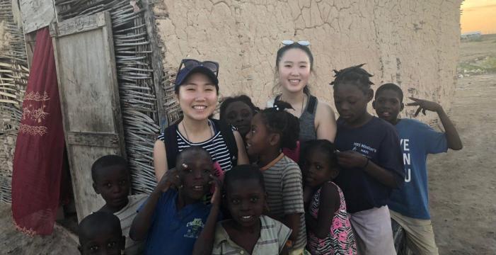 Junior starts company, aids Haiti