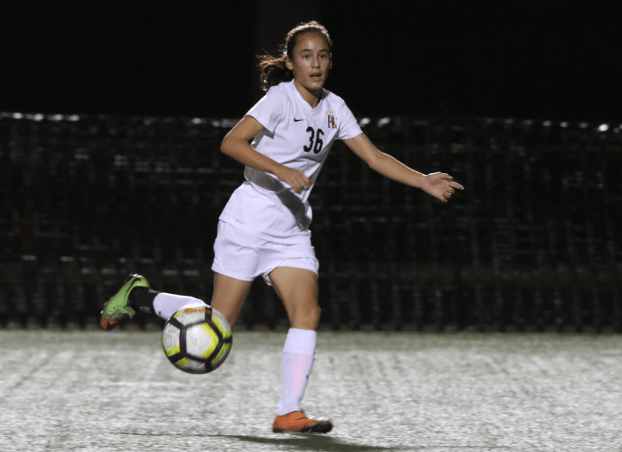 Girls' soccer loses at home