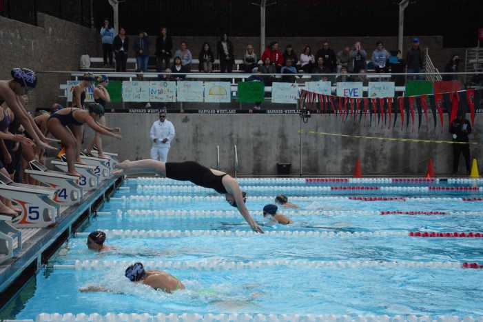 Boys' and girls' swim team celebrate strong early season records
