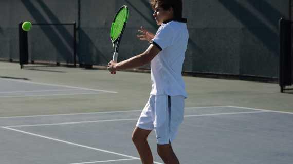 Boys' tennis dominates Chaminade in final league match