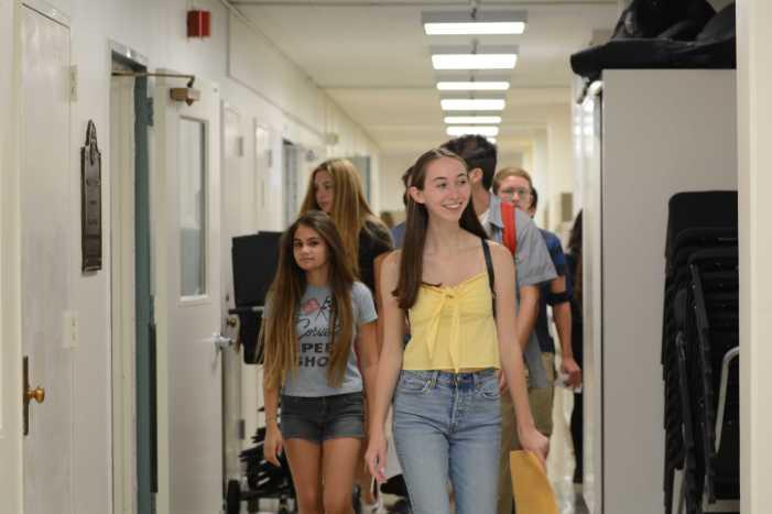 New student mentorship program has first meeting