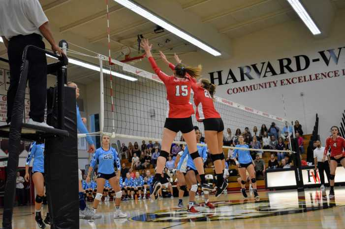 Wolverines fall to Marymount in three sets