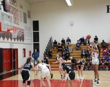 Girls' basketball continues success in fourth victory of season
