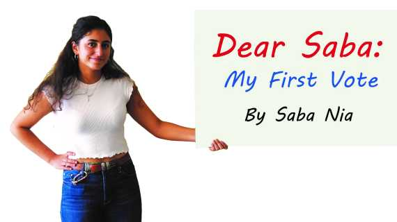Dear Saba: My First Vote
