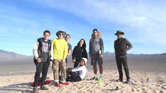 Rock on: Geology students travel to Death Valley