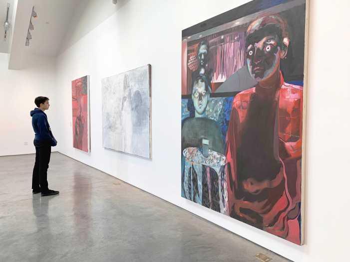 Faculty showcases artwork in gallery