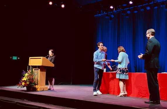 Valedictorian announced at annual Cum Laude Inductee Ceremony