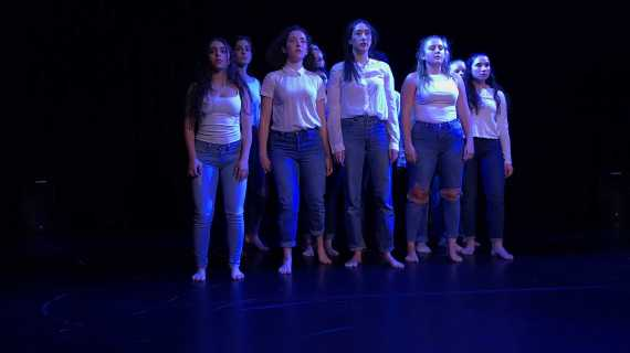 Students perform in end-of-year dance showcase