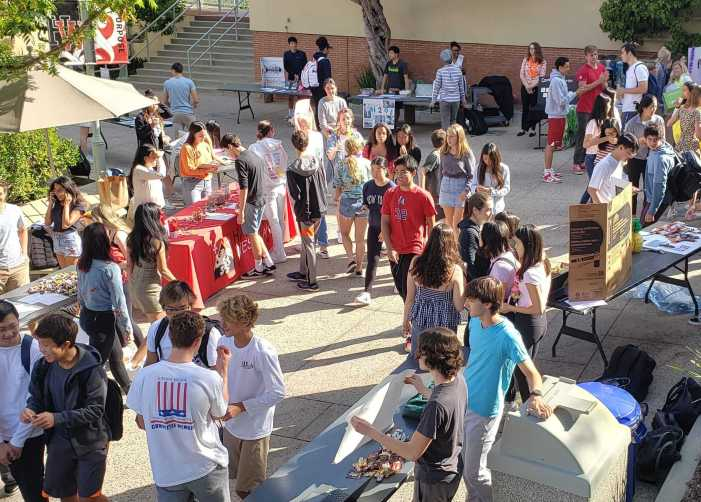 Students explore interests at Activities Fair