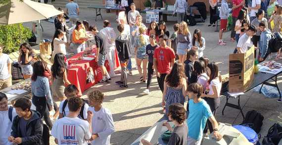 Students explore interests at Activities Fair