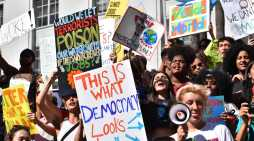 Students leave school early to attend Global Climate Strike