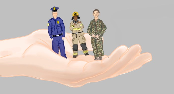 Giving thanks to our capeless heroes