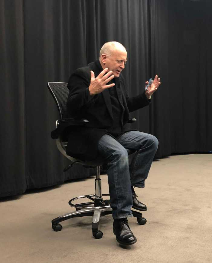 Oscar winning cinematographer speaks about movie