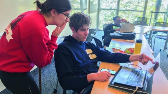 Entrepreneurs tackle STEM issues