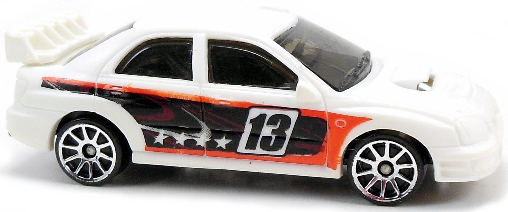 Subaru Impreza WRX 73mm 2005 Hot Wheels Newsletter