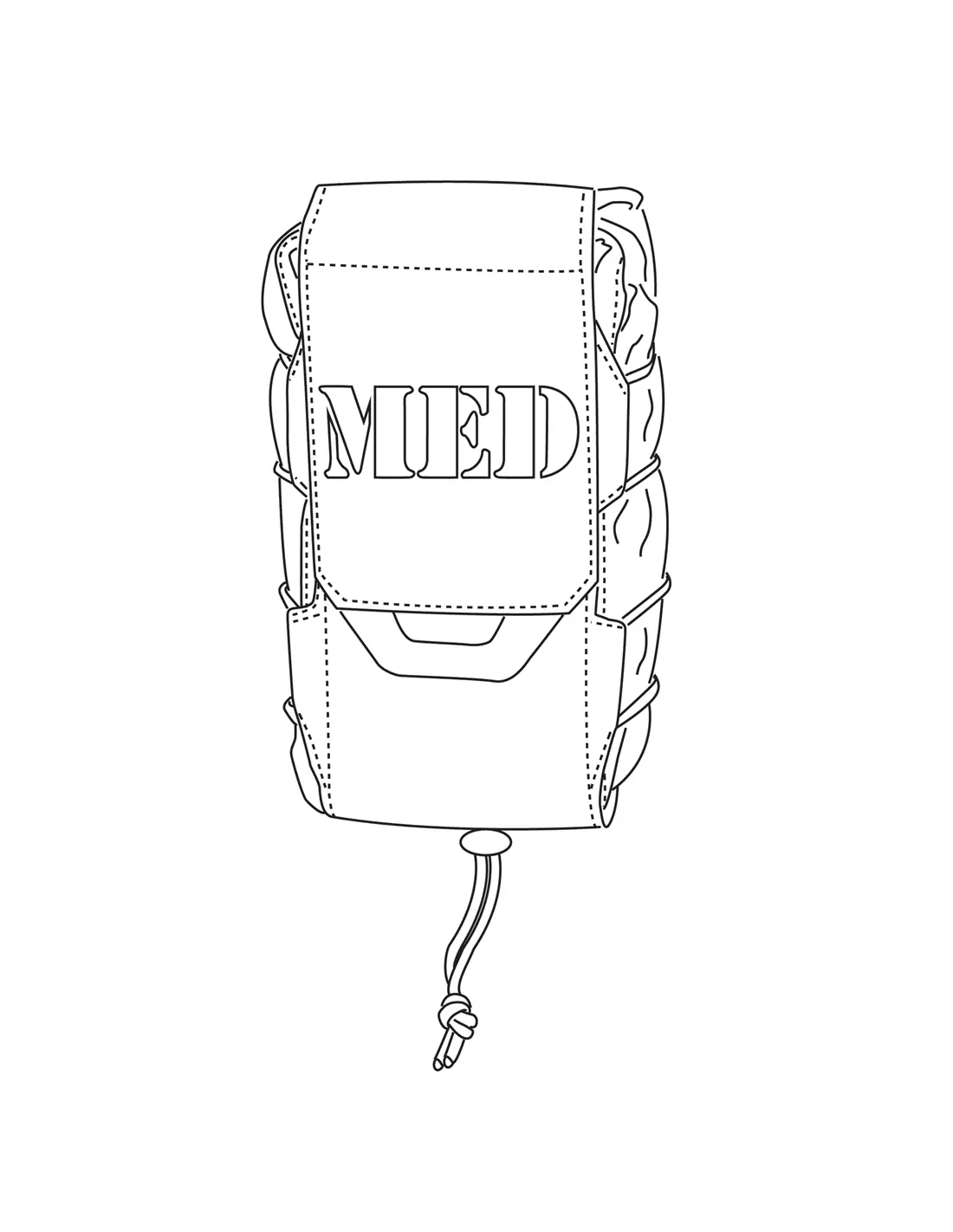 Med Pouch Vertical