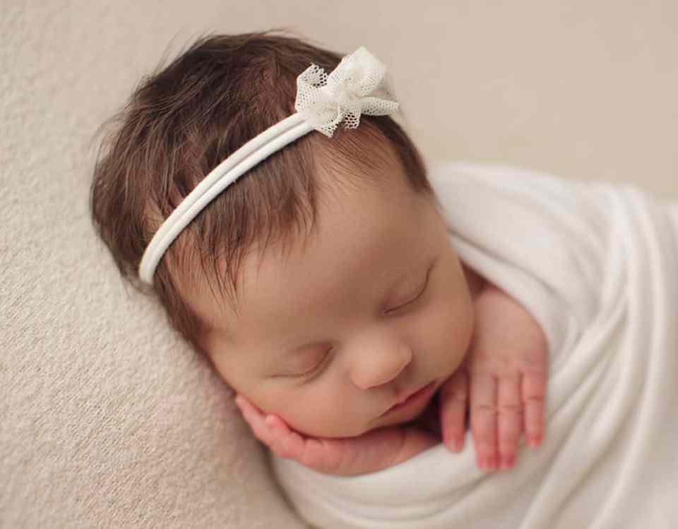 Denver newborn girl photographer