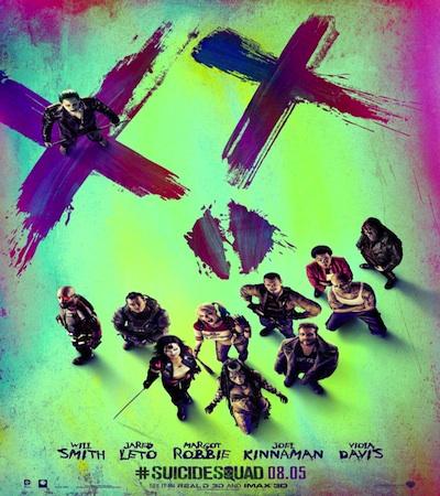 suicide squad movie poster image