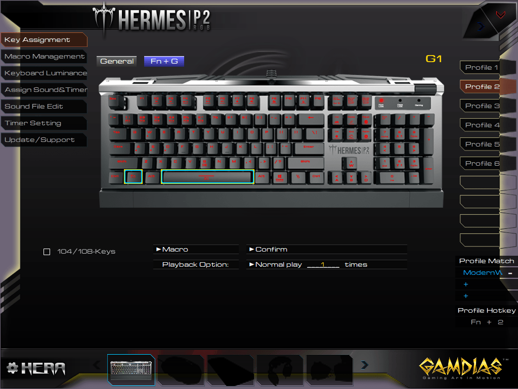 Gamdias Hermes P2 Hera Software.