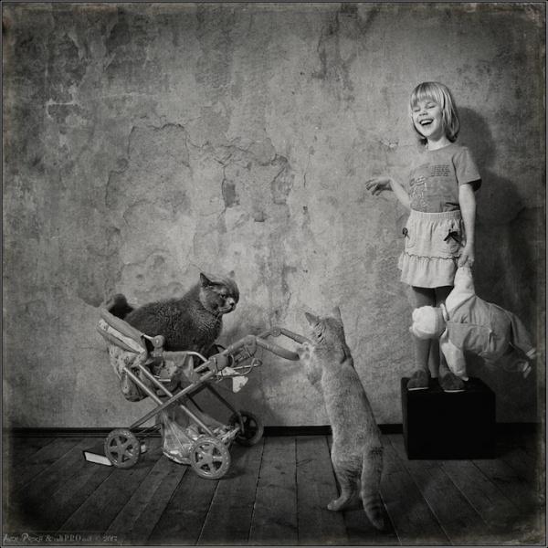 kiz ve kedi (10)
