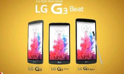 LG G3, Beat ve Stylus modelleri
